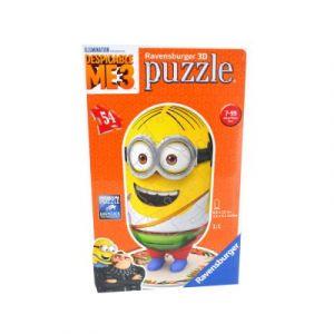 Ravensburger Moi, Moche et Méchant 3 Minions - Puzzle 3D 54 pièces