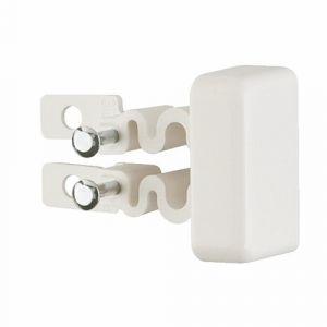 Legrand Embout de finition pour moulure électrique - 40x16mm - blanc - DLPlus