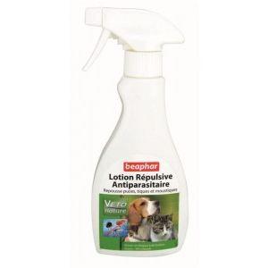 Beaphar Lotion répulsive antiparasitaire pour chiens et chats (250 ml)