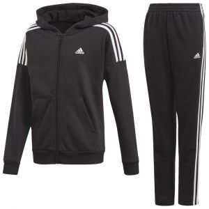 Adidas Ensembles de survêtement JB COTTON TS - Couleur 12 / 18 mois,4 ans,5 ans,6 ans,7 ans,8 ans,10 ans,12 ans,14 ans,16 ans,4 / 5 ans,9 ans,11 / 12 ans,1 - Taille Noir