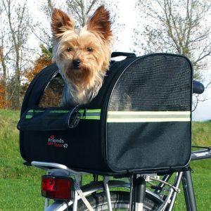 Trixie 13112 - Sacoche arrière vélo pour chien