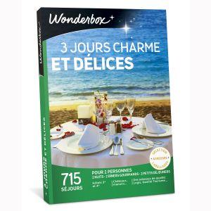 Wonderbox 3 jours charme et délices - Coffret cadeau 715 séjours