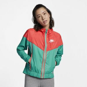 Nike Coupe-vent tissé Sportswear Windrunner pour Femme - Vert - Couleur Vert - Taille M