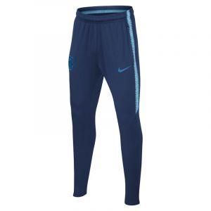 Nike Pantalon de football FC Barcelona Dri-FIT Squad pour Enfant plus âgé - Bleu - Couleur Bleu - Taille S