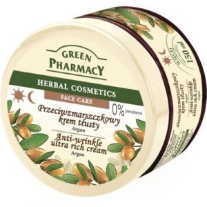 Green Pharmacy Crema facial antiarrugas hidratante Argan - 150 ml