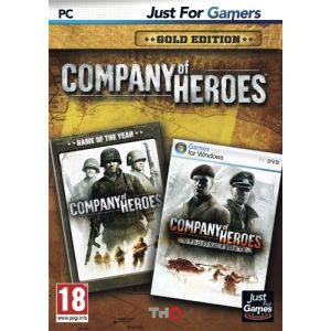 Company of Heroes Gold Edition : Le jeu + l'extension Opposing Fronts [PC]