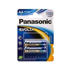 Panasonic 2 piles AA LR06 Evolta
