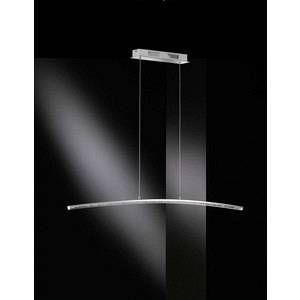Wofi Lampe suspendue SOREL LED Chrome, 1 lumière