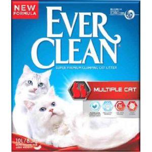 Everclean Litière pour chats Multichat 6 litres