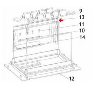 Procopi 1012081 - Sac filtre porte filtre 1 sac Patriote (1 oeillet)