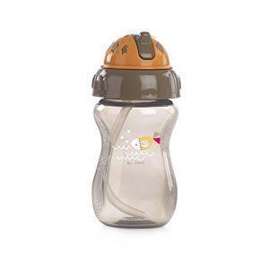 Jané 010266C01 - Biberon avec paille 275 ml