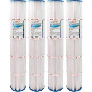 Crystal Filter Filtre SPCF-120 - Compatible Pentair® QUAD DE 100 (lot de 4)