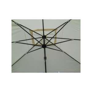 Parasol déporté rectangulaire 3 x 4 m