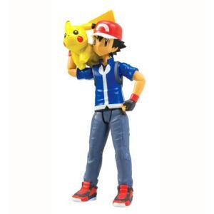 Tomy Pokémon Dresseur Sacha et Pikachu