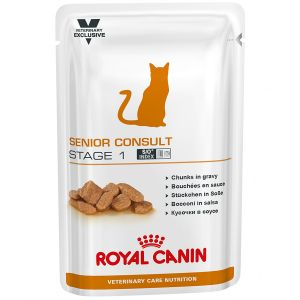 Royal Canin Veterinary Diet Chat Senior Consult Stage 1 - 12 sachets de 100 g