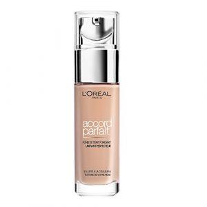 L'Oréal Accord Parfait 2.R. Vanille Rosé - Fond de teint fondant unifiant perfecteur
