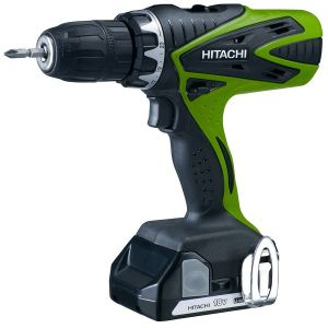 Hitachi DS18DSFL - Perceuse visseuse 18V + 2 batteries