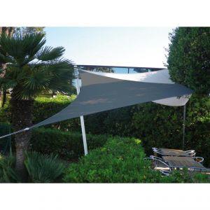 sun & vela Easy Sail - Voile d'ombrage triangle 5 m