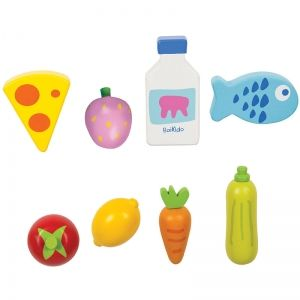 Boikido Set aliments pour marchande 8 pièces