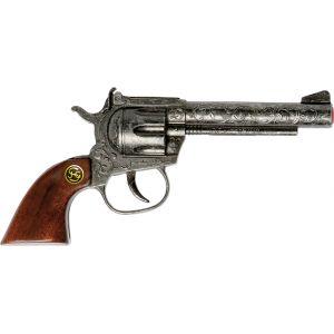 Schrödel Pistolet en métal et bois Sheriff Antik (100 coups)