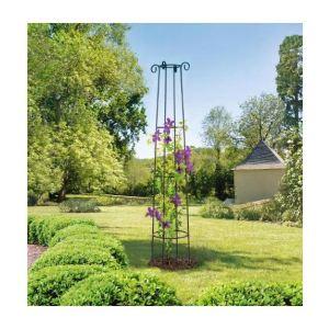 Intermas Gardening 190202 - Support décoratif Obelisk 2 m