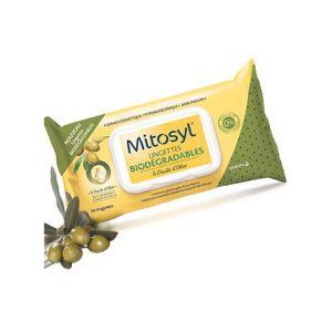 Mitosyl Lingettes biodégradables à l'huile d'olive - 70 lingettes