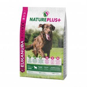 Eukanuba Natureplus - Croquettes avec agneau pour chien adulte de grande race - Sac 2,3 kg