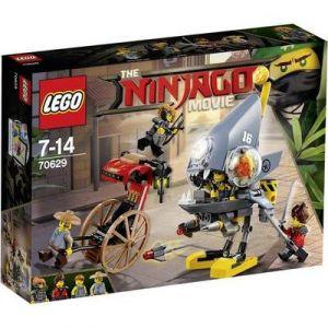 Lego 70629 - Ninjago Le Film : L'attaque des Piranhas