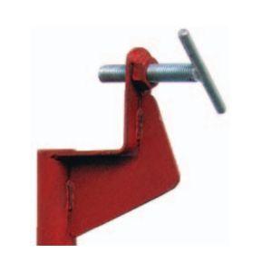 Altrad Coulisseau simple P6695SN en acier peint rouge pour piquet d'implantation