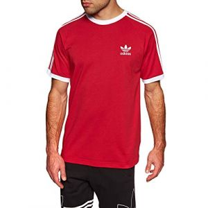 Adidas 3-Stripes Tee T-Shirt Homme, Power Red, FR : S