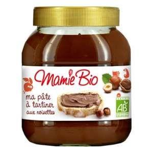 Mamie bio Pâte à tartiner Cacao Noisettes Bio 750g