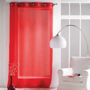 rideaux rouge orange comparer 306 offres. Black Bedroom Furniture Sets. Home Design Ideas