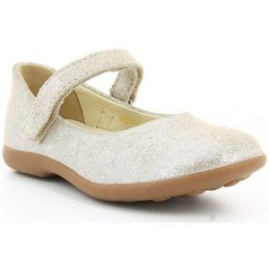 Kickers Ambellie, Ballerines Bout Fermé Filles, Or (Or), 35 EU