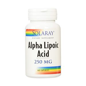 Solaray Acide Alpha Lipoïque 250mg 60 capsules