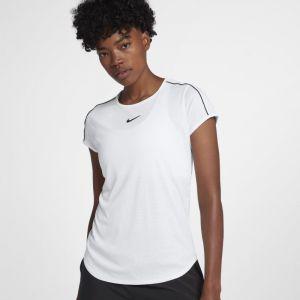 Nike Haut de tennis Court Dri-FIT pour Femme - Blanc - Taille XS - Femme