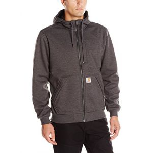 Carhartt Sweat à capuche zippé gris WINDFIGHTER SWEATSHIRT - Taille L