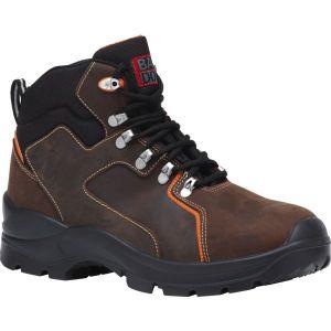 Baudou Chaussure de sécurité haute marron - Mérida - Pointure 43