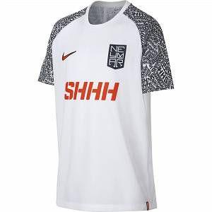 Nike Haut de footballà manches courtes Dri-FIT Neymar Jr. pour Enfant plus âgé - Blanc - Taille XS - Unisex