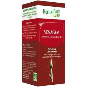 Image de Herbalgem Venagem Bio - Complexe jambes lourdes