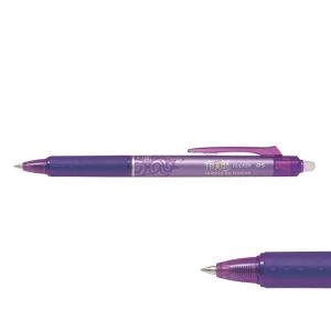 Pilot BLRT-FR5-R - Stylo roller FriXion Ball Clicker 05, pointe 0,5 mm, encre rouge