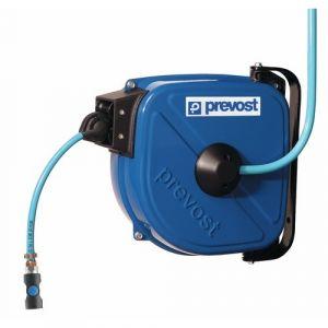 Prevost Tuyau PVC à enrouleur automatique 12 m (Ø 8 / 12 mm)