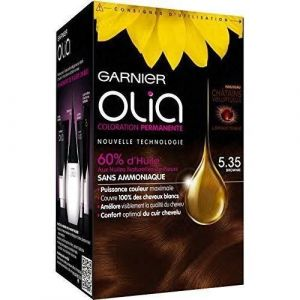 Garnier Olia 5.35 Brownie - Coloration permanente à l'huile sans ammoniaque