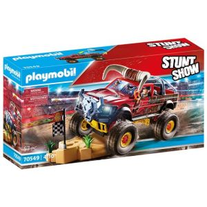 Playmobil Stuntshow 4x4 de cascade taureau 70549