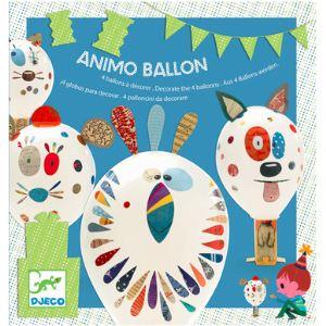 Djeco Ballons à décorer : Animo ballon