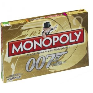 Winning Moves Monopoly 50th Anniversary Edition James Bond 007