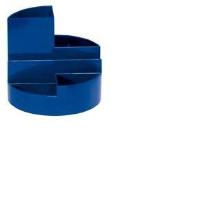 Maul 41176-37 - Organisateur de bureau MAULrundbox, coloris bleu