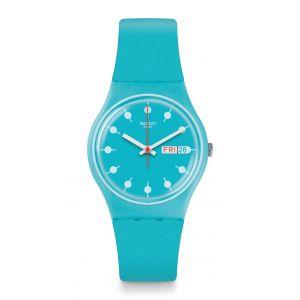 Swatch Mixte Digital Quartz Montre avec Bracelet en Silicone GL700