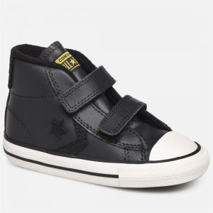 Converse Chaussures enfant STAR PLAYER 2V ASTEROID - MID Noir - Taille 20,21,22,23,24,25,26