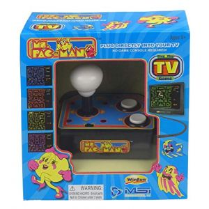 Just for Games Ms Pacman TV Arcade Plug & Play