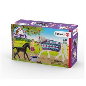 Schleich Figurines chevaux : Soins pour les Lipizzans